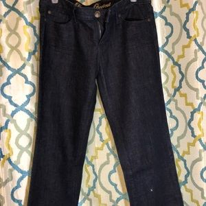 Gap dark blue bootcut jeans